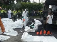 31 Anak Tewas Terbakar dalam Kecelakaan Bus di Kolombia
