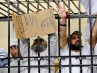 Puluhan Ribu Tahanan Mesir Mulai Aksi Mogok Makan