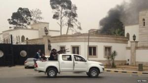 parlemen libya diserang