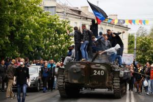 pembangkang ukraina rampas panser