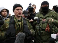 Milisi Ukraina Timur Bebaskan Pemimpin yang Ditahan