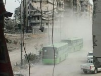 Militan Suriah Mulai Diangkut Pergi dari Kota Lama Homs