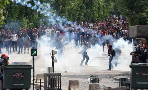 TURKEY-MINING-ACCIDENT-DEMONSTRATION