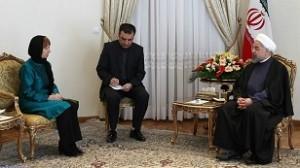 Catherine Ashton Petinggi Uni Eropa Berkerudung saat melawat ke Iran