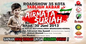 Roadshow Suriah, klik untuk memperbesar