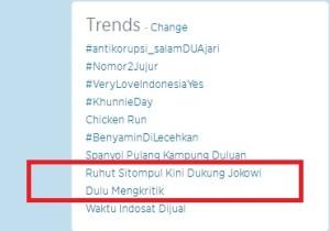 Ruhut dukung Jokowi