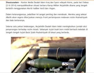 Senjata Israel Di Suriah Shotussalam