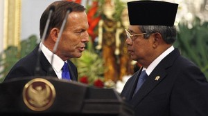 Tony Abbott, Susilo Bambang Yudhoyono