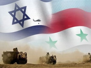 foto israel vs suriah