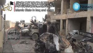 مسلحو داعش ينتشرون بمؤسسات حكومية في الشرقاط بتكريت
