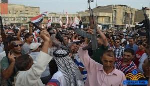 آلاف المتطوعين من انحاء العراق والعشائر تقاتل داعش في عدة مدن