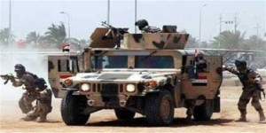irak tentara bertempur