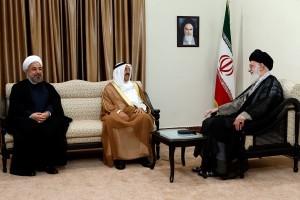 تصاویر دیدار امیر کویت با رهبر معظم انقلاب اسلامی