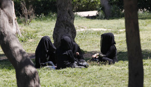 para jihadis perempuan di Raqqa (foto: Reuters)
