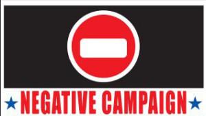 kampanye negatif