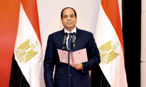 mesir al-sisi sworn