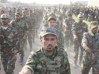 Ribuan Personil Milisi Sadr Berparade di Baghdad