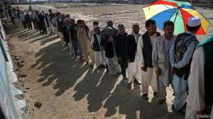 pemilu afghan