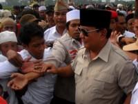 Prabowo Berkampanye Di Jawa Timur