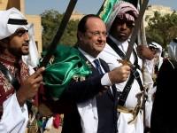 Di Saudi, Presiden Perancis Menari