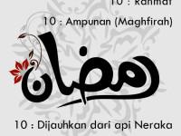 Hikmah Ramadhan (2) : Merajut Rahmat, Ampunan dan, Doa di Bulan Mulia