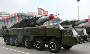 North Korea moves missile laiunchers