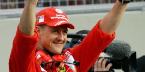Former Ferrari driver Michael Schumacher