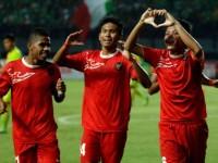 Timnas U-19 Libas Pra-PON Riau 4-0