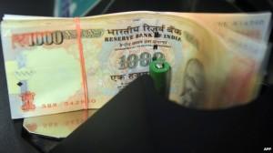 uang india