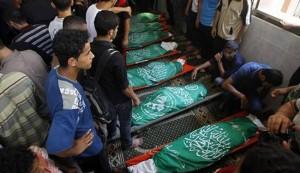 Israeli airstrikes kill 6 Gazans; Palestinian death toll hits 95