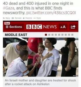 Propaganda BBC atas GAza
