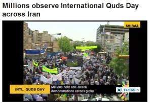 Jutaan rakyat Iran tumpah ruah peringati Al-Quds Internasional