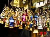 Lampu hias saat Ramadhan