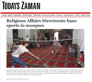 Sumber foto: http://duaribuan.wordpress.com/2014/07/18/badminton-dalam-masjid-al-aqsa/