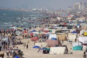 Pantai di Gaza, foto: Ella