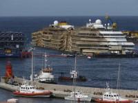 Costa Concordia Tiba di Genoa untuk Dihancurkan