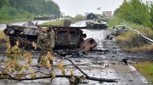 destroyed tanks