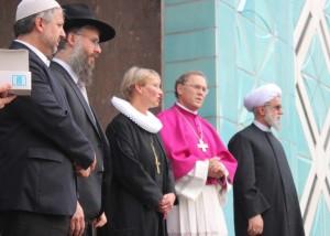 Doa Perdamaian dari Anak-anak Ibrahim (foto: www.izhamburg.com)
