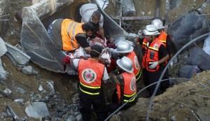 ارتفاع حصيلة العدوان الاسرائيلي على غزة الى أكثر من 1000شهيد