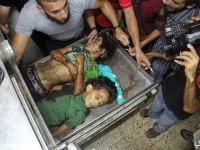 Berlebaran di Taman, Puluhan Anak Palestina Digempur Jet Israel