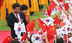 Chinese President Xi Jinping visits South Korea