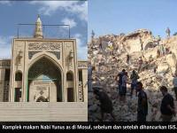 ISIS Jarah Harta Karun Dari Bawah Masjid Agung Nabi Yunus as