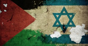 palestine-israel flag