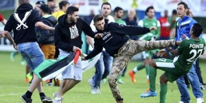 NEWS : Altercation Lille vs Maccabi Haifa - 07/23/2014