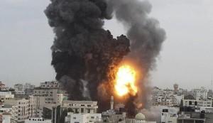 غارات اسرائيلية تحصد مدنيين والحصيلة ترتفع الى نحو 100