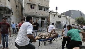 437 شهيدا واكثر من 3 الاف جريح حصيلة العدوان على غزة