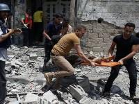 Syuhada Palestina Jadi 500 Lebih