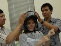Helm Anti Kantuk Karya Mahasiswa Indonesia, Raih Emas di Malaysia