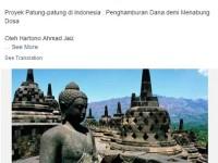 Agenda ISIS di Indonesia: Hancurkan Candi Borobudur
