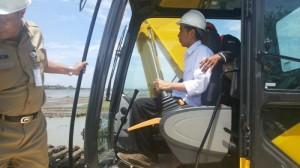 Jokowi di Rawa Kendal
